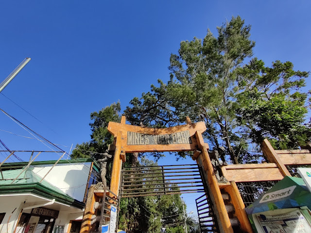 Entrance to Baguio City's Mines View Park