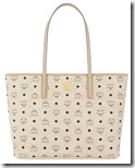 MCM Coated Canvas Shopper