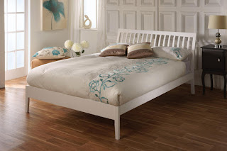 Beautiful LB Hard wood bed frame available in finishes