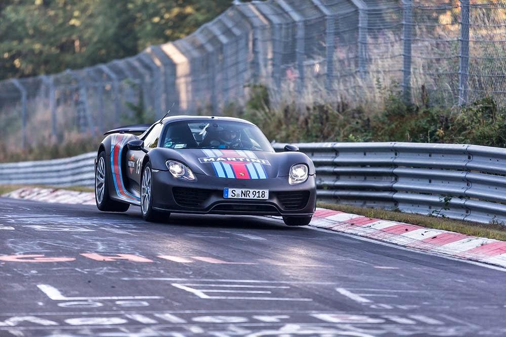 Porsche 918 Spyder Nurburgring Record 4
