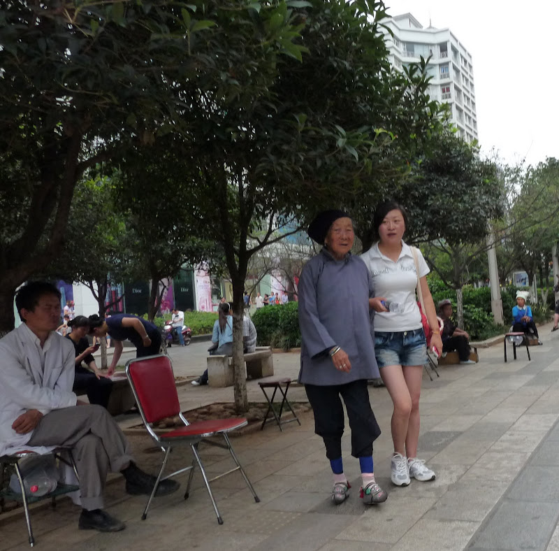 CHINE.YUNNAN.KUN MING Temple, jardin horticole,Musée des minorites - P1270383.JPG