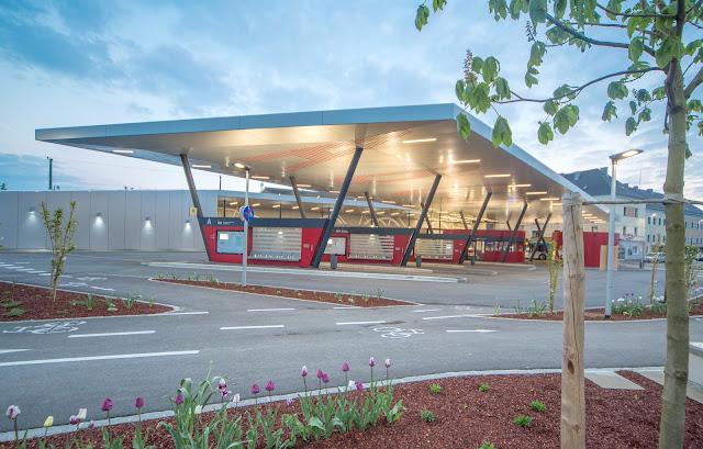 Busbahnhof Attnang Puchheim - Architekturbüro Gilhofer