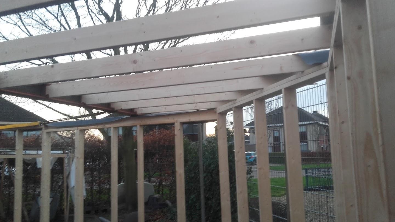 Modderpoel toon onderwerp show je beunhok - Opruimen houten balk ...