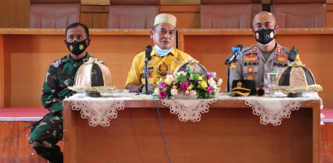 Plh Bupati Soppeng Pimpin Rapat Persiapan Pelantikan Bupati/Wakil Bupati