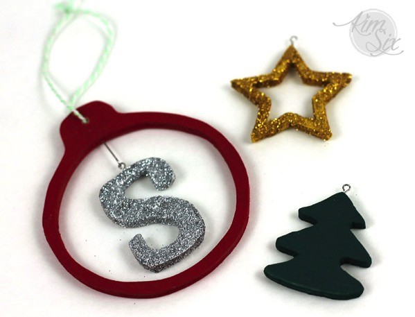 Wooden personalized scroll saw ornaments