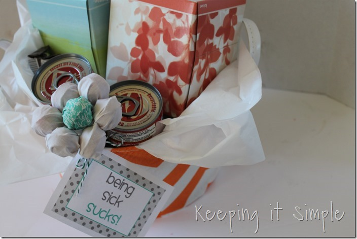 #ad get-well-gift-basket-with-Kleenex #ShareKleenexCare (29)