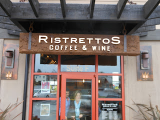 Ristrettos - above entry door