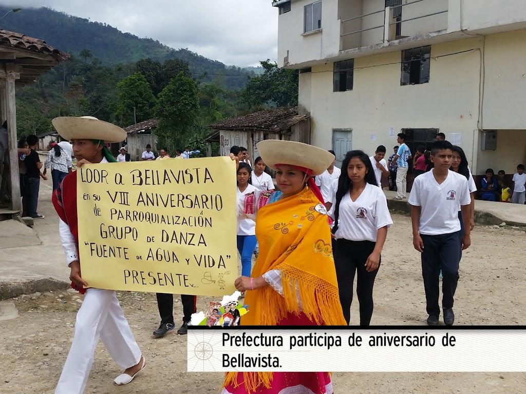 PREFECTURA PARTICIPA DE ANIVERSARIO DE BELLAVISTA
