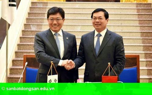 Hình 1: Việt - Hàn chính thức ký hiệp định thương mại tự do