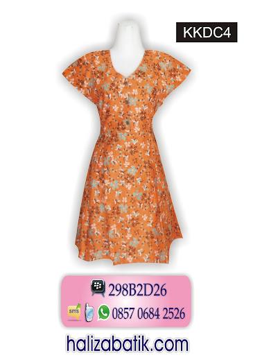 kkdc4 Batik Dress, Dress Murah, Dress Modern, KKDC4