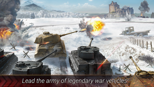 World of Armored Heroes: WW2 Tank Strategy Wargame 1.2.0 Mod + Data for Android 2