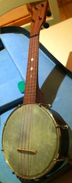 Hawkes & Son open back Banjolele