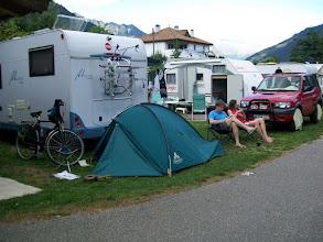 Photo: 13e Dag, dinsdag 28 juli 2009 Aankomst: Naturs (Italië)  Totaal gereden: 1132 km