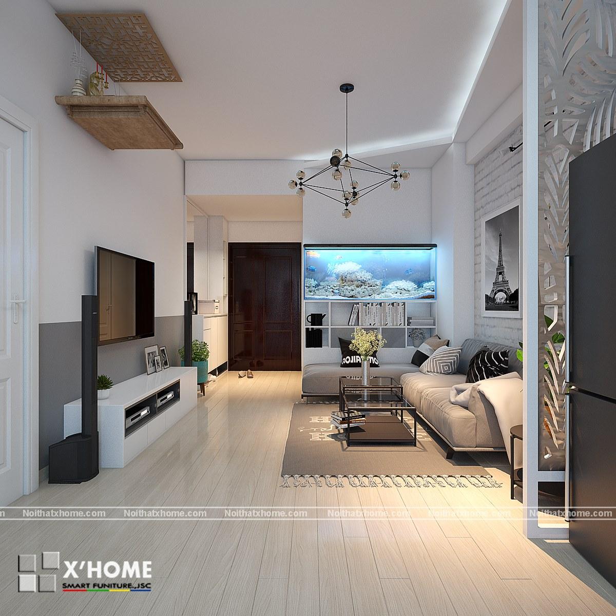 Thiết kế nội thất đẹp cho căn phòng diện tích nhỏ