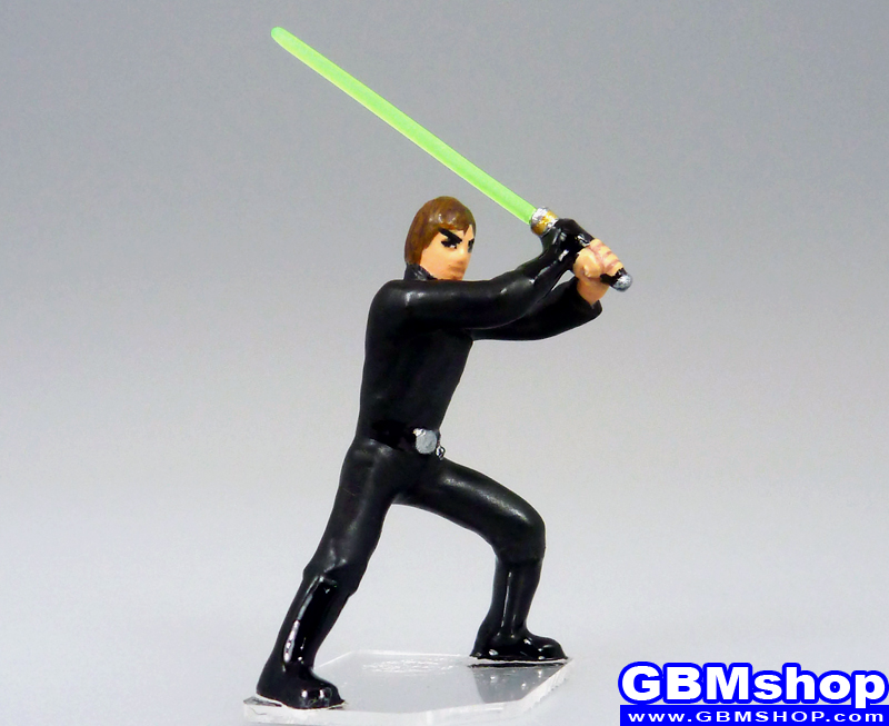 star wars miniature Imperial Assault Luke Skywalker Jedi Knight #09 Rebel Storm Star Wars Miniatures custom Customize and Painting