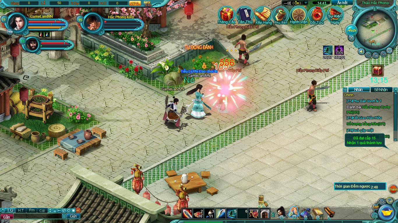 Hình ảnh thử nghiệm webgame Tiểu Lý Phi Đao - Ảnh 13