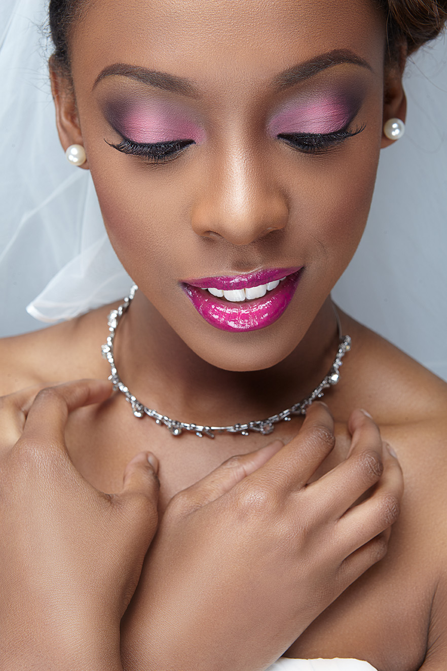 LATEST AFRICAN WEDDING MAKEUP STYLES IN 2018 5