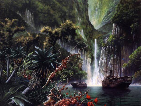 Island Of Old Tribe, Magical Landscapes 2