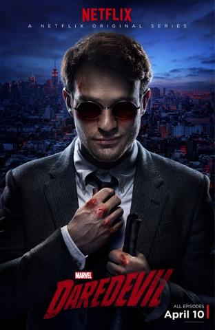 Daredevil Netflix show poster