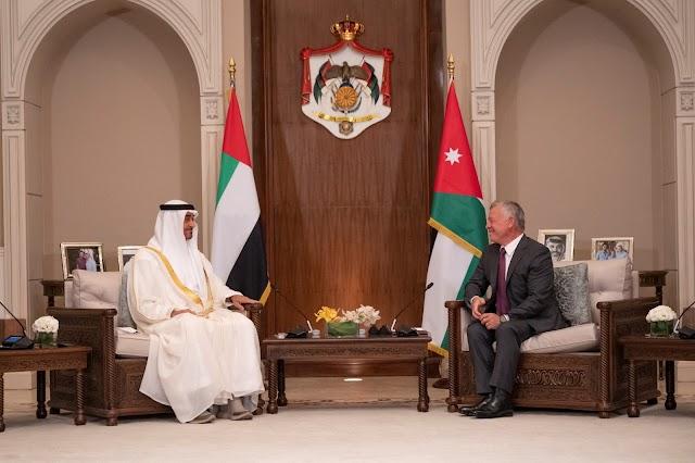 Mohamed bin Zayed visits Jordan on official visit