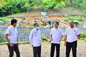 Kunjungan Objek Wisata Berlanjut, Bupati Sidrap Tinjau Pulau Buatan di Wette'e