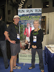 Dave and Debbie at The Running Event  in Austin