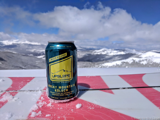 Upslope New Limited Release Rocky Mountain Kölsch Cans