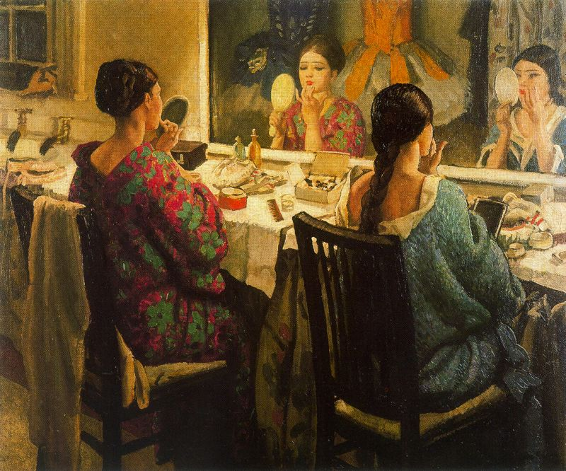 Laura Knight - The Dressing room