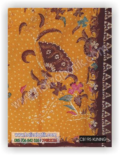 Jual Batik Online, Contoh Baju Batik, Busana Batik, CB195 KUNING