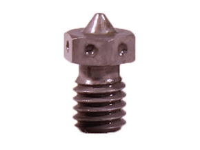 E3D v6 Extra Nozzle - Hardened Steel - 3.00mm x 0.80mm