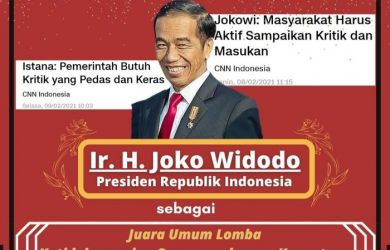 Setelah BEM UI, Aliansi Mahasiswa UGM Beri Gelar Baru Buat Presiden Jokowi