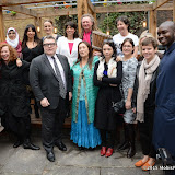 OIC - ENTSIMAGES.COM - Paigey Cakey, Sajidah Patel, Sarah Jane Morris, Chloe Frances, Tom Watson, Kate Smurthaite, Seema Malhotra, Lynne Franks, Tom Morley, Orsola de Castro, Naimoi Smith, Frances Scott, Deborah Jameson, Charlie Melville and Oluwatosin Sowemimo at the One Billion Rising For Justice Photo Call at The House of St Barnabas London 10th February 2015 Photo Mobis Photos/OIC 0203 174 1069