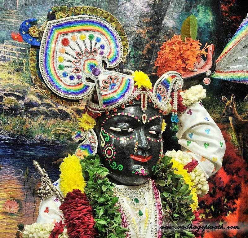 ISKCON Chowpatty Deity Darshan 20 Dec 2015 (1)