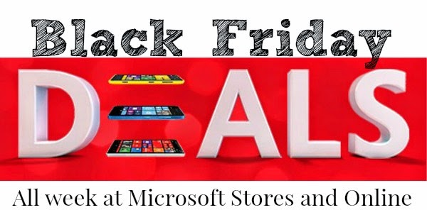 Black Friday Deals all week in Microsoft Stores and online