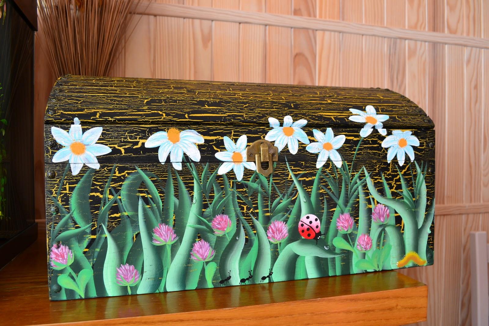 Peinture decorative sur bois mars 2011 - Peinture decorative meuble bois ...