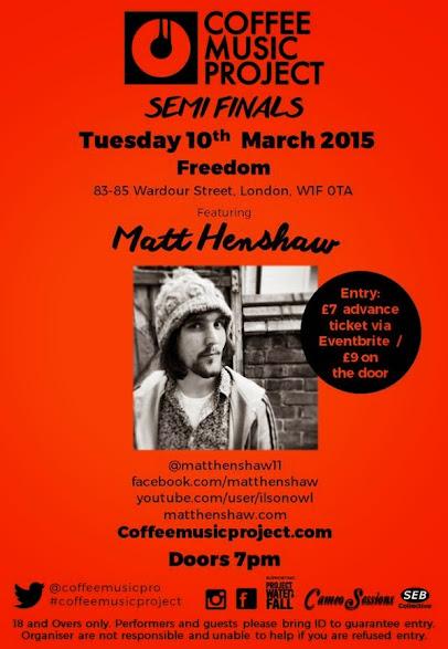 Matt Henshaw Peace Love Tea Coffee