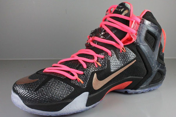 Nike LeBron 12 Elite  Rose Gold  Detailed Pics