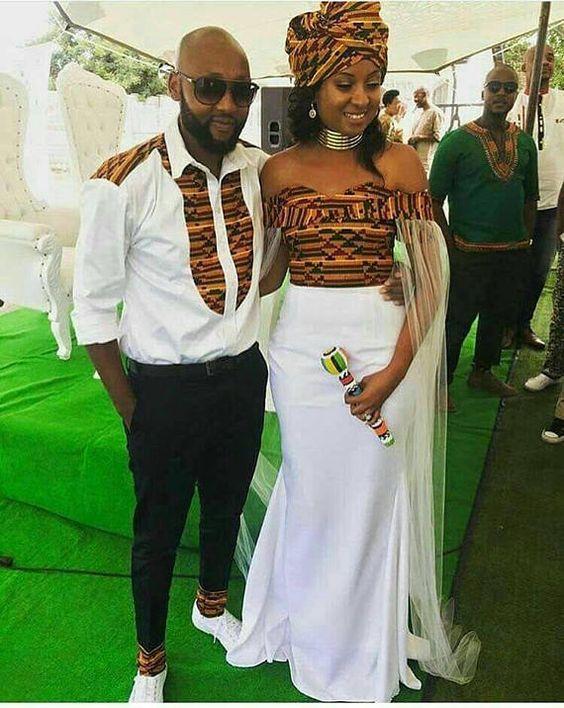 Amazing Long Stunning Sepedi Wedding Dresses 2018 4