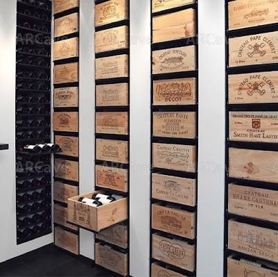 Caixas de vinho - adega