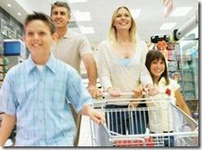 Consumi famiglie italiane in calo del 4,8% rispetto al 2007