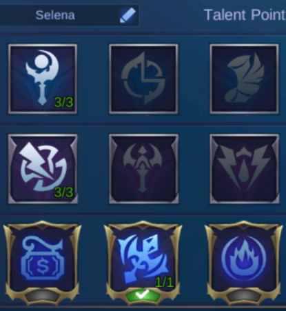 Set Emblem Hero Selena