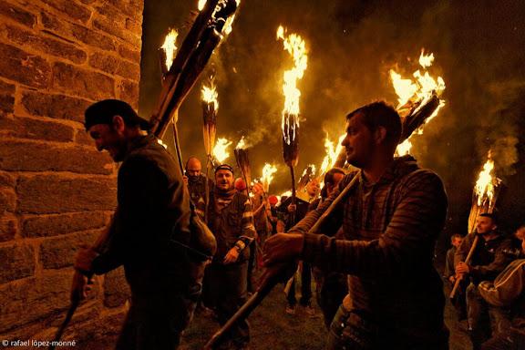 Festa de les Falles a Durro. Vall de Boí, Alta Ribagorça, Lleida