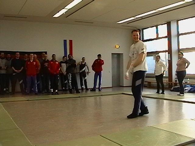 Freundschaftswett- kampf gegen das französiche Nationalteam 2003 - IMGA0151.JPG