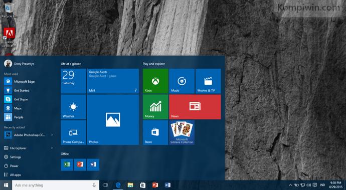 memulai dengan windows 10 tutorial windows 10 013