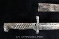Handle of German Ersatz Bayonet