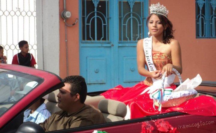 reina del desfile del 16 de septiembre