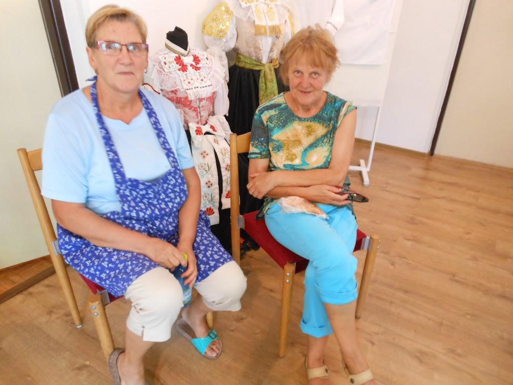 Editka Krajčovičová s návštevou