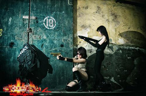 Game thủ Việt tung ảnh cosplay về Đột Kích 12