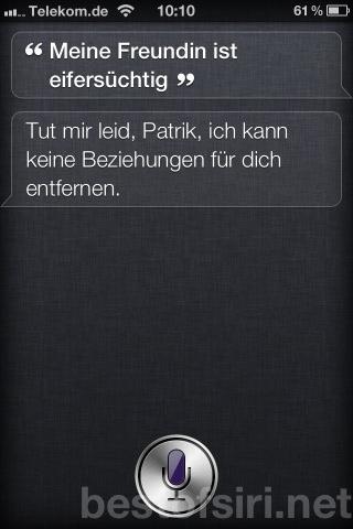 Best Of Siri Deutsch Lustige Fragen Antworten Sprüche