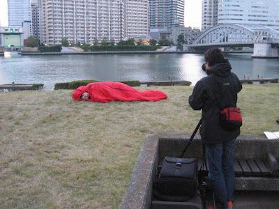 翌朝、撮影開始